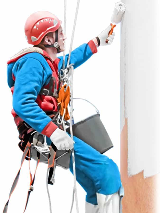 Промышленные альпинисты цены на покраску