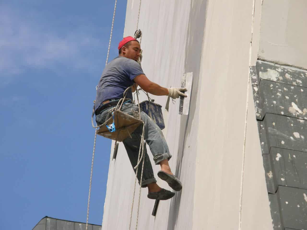 Промышленный альпинизм услуги в спб